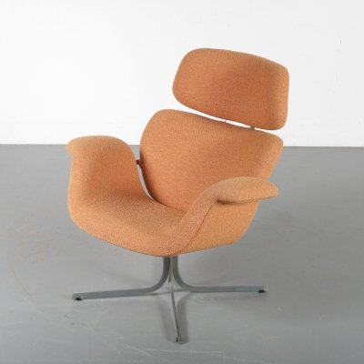 'Big Tulip' Lounge Chair by Pierre Paulin for Artifort, Netherlands 1960