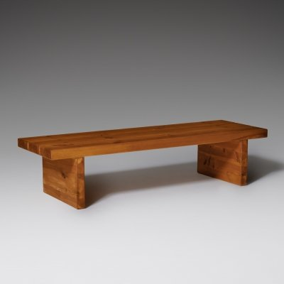 Roland Wilhelmsson Bench in Solid Pine, 1970's
