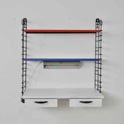 Shelving Unit by Adriaan Dekker for Tomado 1960S