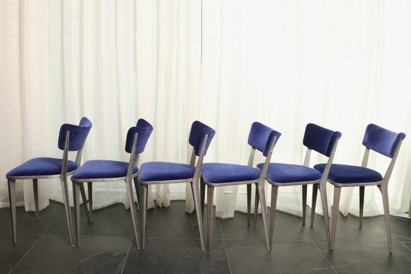 Set of 6 BA 23 Chairs by Ernest Race for Race Furniture, 1946
