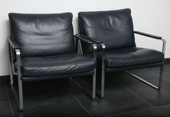 Set of 2 armchairs FK 6720 by Preben Fabricius & Jorgen Kastholm for Walter Knoll