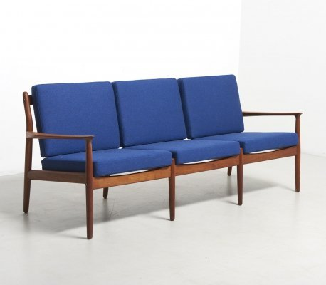 Sofa with Loose Cushions by Grete Jalk for Glostrup Møbelfabrik, Denmark 1960'