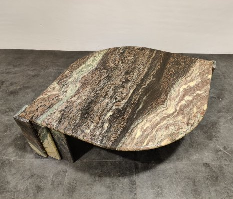 Marble Coffee Table, Italy 1970s