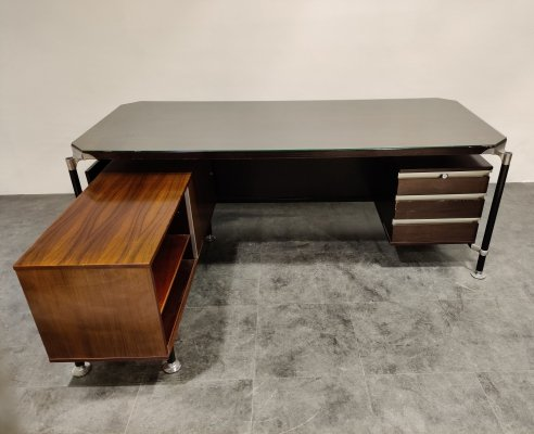 President's desk by Ico & Luisa Parisi for Mim Roma, 1960s