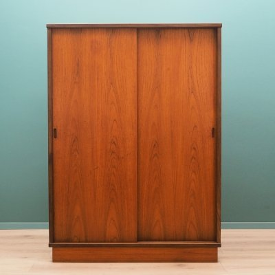 Danish design Wardrobe in teak, 1970's