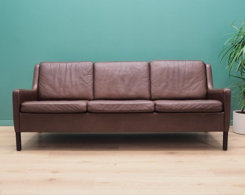 Danish design Sofa in leather, 1970's