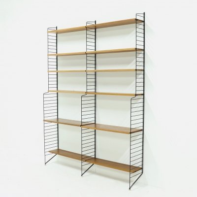 Modular Teak Shelving Unit by Nils Strinning for String AB Sweden, 1960s
