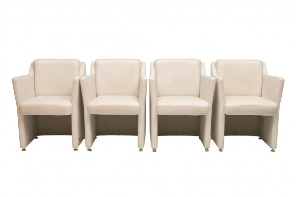 Set of 4 Rolf Benz Ego Chairs