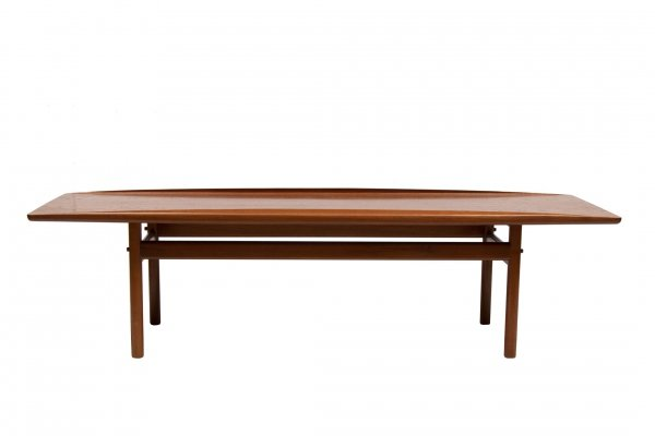 Danish Teak Coffee Table by Grete Jalk for Poul Jeppesen, c.1960
