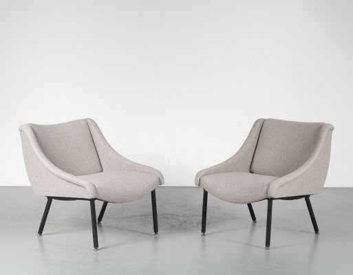 Pair of Italian Chairs, 1950s