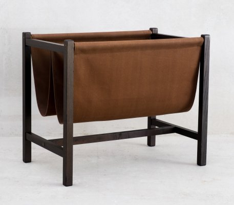 Danish magazine rack, 1960s