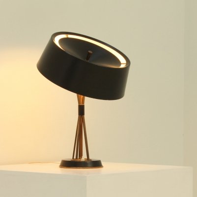 Large Adjustable Table Lamp by Oscar Torlasco for Lumi, 1960s