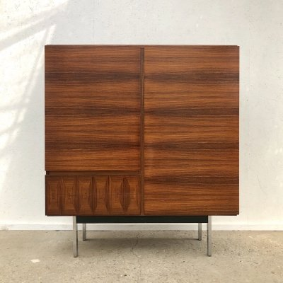 Vintage palisander cabinet / highboard by Musterring, 1960s