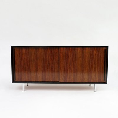 Sideboard in rosewood & black stained wood, 1960s