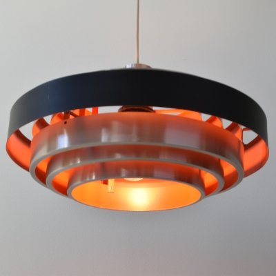 Jo Hammerborg Ultra pendant light, 1960's