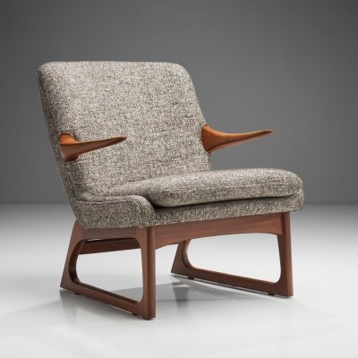 Easy Chair by Fredrik A. Kayser for Vatne, Norway 1960s