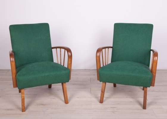 Pair of Polish Armchairs, 1960s