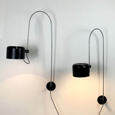 Coupe Wall Lamps by Joe Colombo for Oluce, 1960s