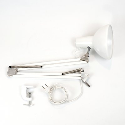 White IKEA A601 clamp lamp, 1970s