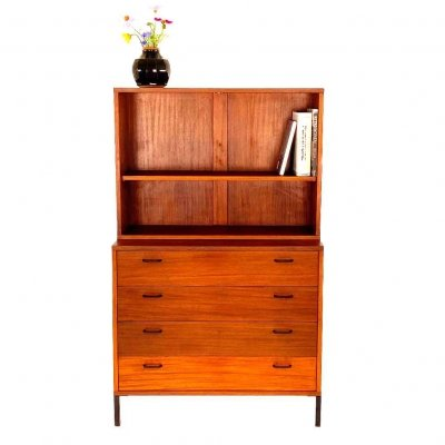 Vintage Simpla Lux drawer with book shelf, 1960s