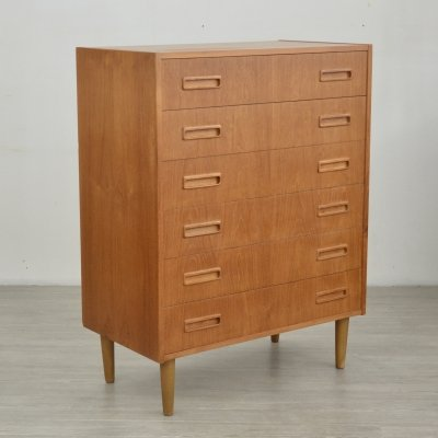 Danish Chest of Drawers by Westergaard Møbelfabrik, 1960s