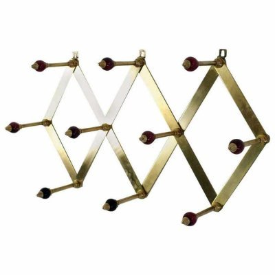 Midcentury Coatrack 'Fisarmonica' by Luigi Caccia Dominioni for Azucena