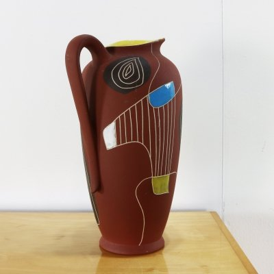 293 Brasil vase by Bodo Mans for Bay Keramik, 1970s