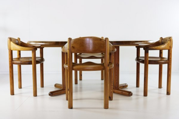 Dining set by Rainer Daumiller for Hirtshals Savværk, 1970s