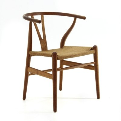 'Wishbone' Chair in durmast by Hans Wegner for Carl Hansen & Søn, 1960s