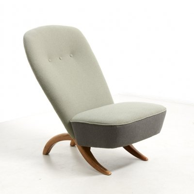 'Congo' Easy Chair by Theo Ruth for Artifort, Netherlands 1950's