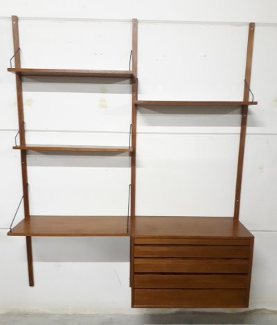 Poul Cadovius wall unit for Cado Denmark, 1960s