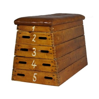 Leather Gym Box, 1930s