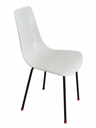 1960's Fiberglass dining chair by Magda Sepova for Research VNP Brno