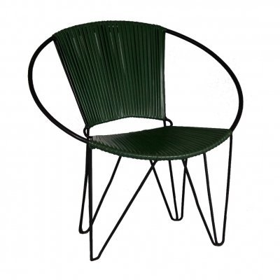 Plastic & Wire Chair, 1960s
