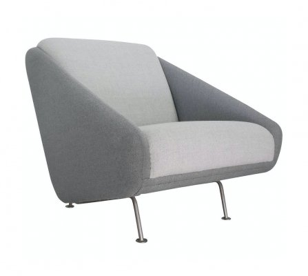 Grey Club chair by Theo Ruth for Artifort, 1958