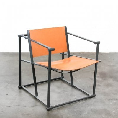 Kubus FM62 arm chair by Radboud van Beekum for Pastoe, 1980s
