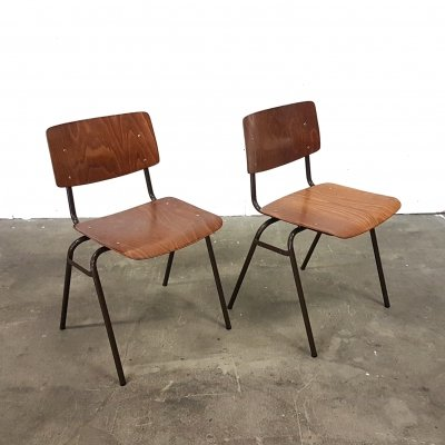 Industrial dining chairs by Marko, Netherlands 1980s