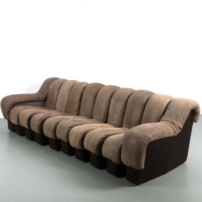 De Sede DS-600 (snake) element sofa, 1970s