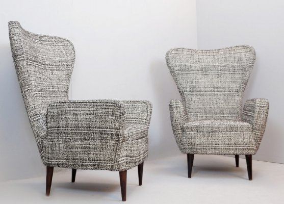 Pair of Armchairs by Emilio Sala And Giorgio Madini, 1950s