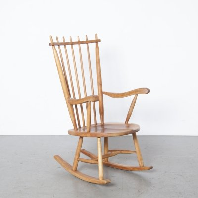 Highback rocking chair by De Ster Gelderland