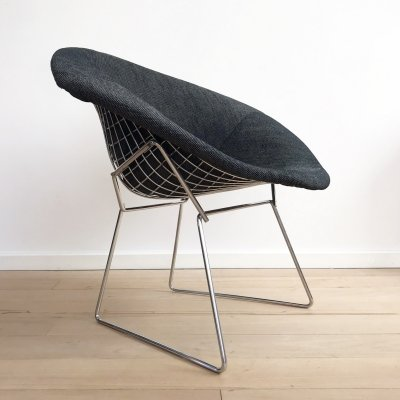 Diamond chair 421 by Harry Bertoia for Knoll, 1970's