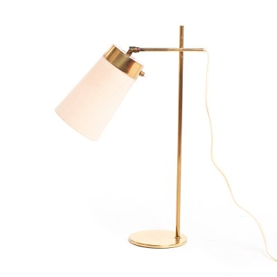 Mid century brass Danish desk lamp, 1960's