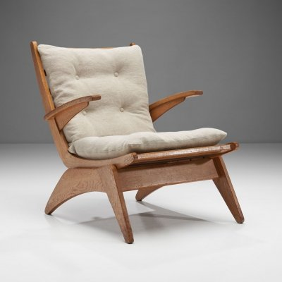 Dutch Modern Armchair by Jan den Drijver, The Netherlands 1950