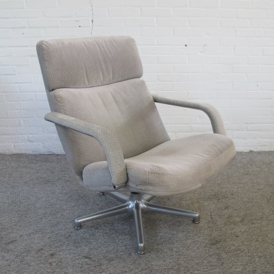 F141 Swivel Lounge Chair by Geoffrey Harcourt for Artifort, 1960s