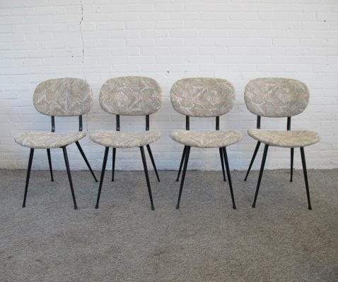 Set of four vintage kitchen chairs, 1960s