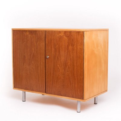 Vintage Pastoe birch series CB32 cabinet by Cees Braakman, 1950s