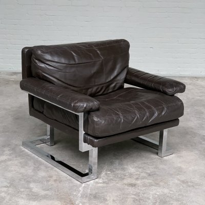 British 'Valentino' Lounge Chair by Tim Bates for Pieff of Worcester, 1970s