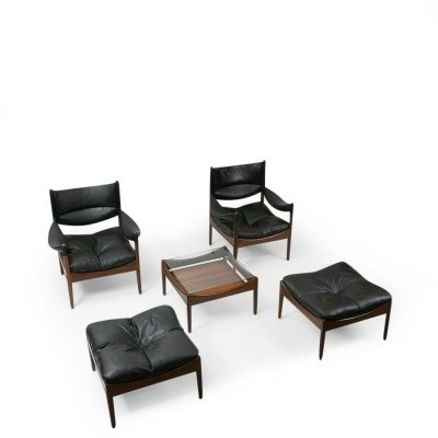 Lounge set by Kristian Vedel for Søren Willadsen, 1960s