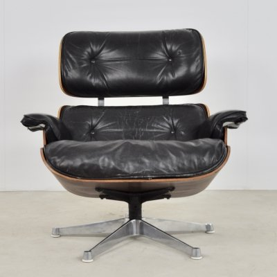 Lounge Chair by Charles & Ray Eames for Mobilier International