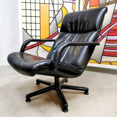 Vintage Dutch design lounge armchair by Geoffrey Harcourt for Artifort